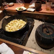 〆のつけ麺のスープ