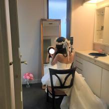 花嫁専用 化粧室