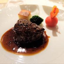牛フィレ肉ソテー