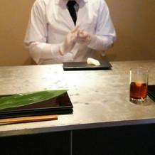 寿司バーです