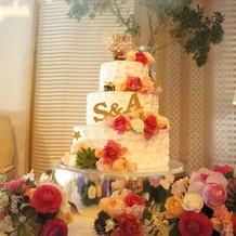 ケーキは大好きなリラックマ(*^^*)