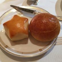 特別に星型のパンも!