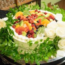ベーシックなプランに季節のフルーツを追加