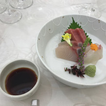日本食のお刺身