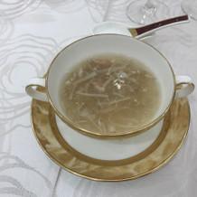 中国料理のフカヒレスープ