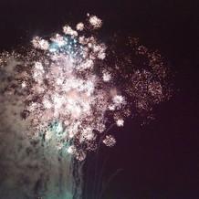 花火はかなり盛り上がりました!