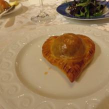 ハート型のパイ