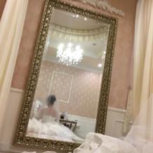 お姫様みたいな可愛く素敵な待合室はです。