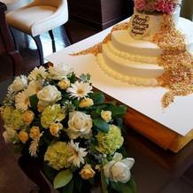 ケーキはパティシエさんに相談して決定!
