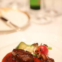 肉料理・国産牛フィレ肉