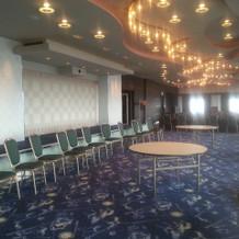 最上階の披露宴会場。20~60名対応。