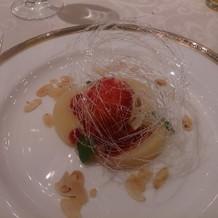 桃 アールグレイムース