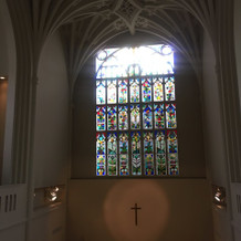 上から見た教会