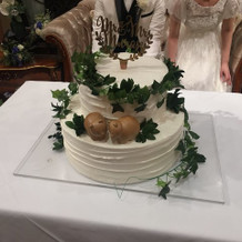 森のくまさんケーキ