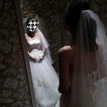 グレードアップしたウエディングドレス