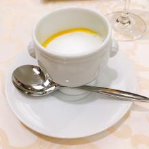 カプチーノスープ、好きでした