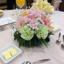 テーブル装花(1番安いプラン)