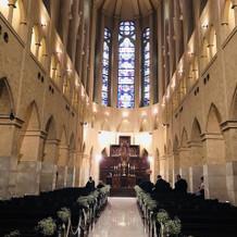 ここに決めた大聖堂の広さ。圧巻でした。