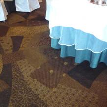 床の模様も素敵