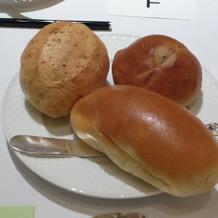 パンも柔らかくて美味しい!