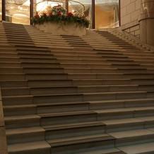 表の大階段