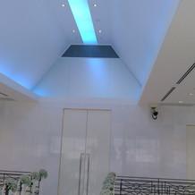 チャペルの天井です。