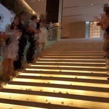 光の大階段