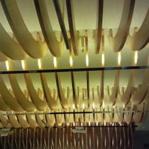 和の雰囲気のある天井