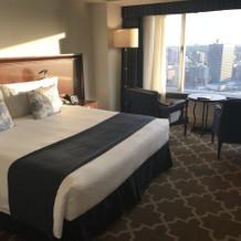 ホテル客室①