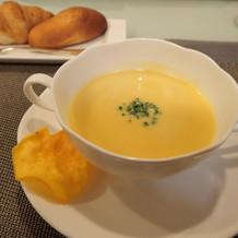 あんのう芋のスープ