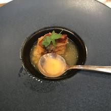 魚料理のスープ