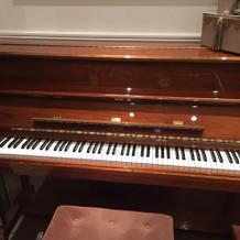 ウェルカムスペースにあるピアノ