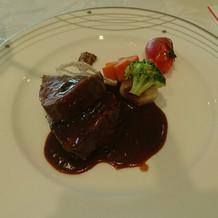福島牛サーロインのソテー