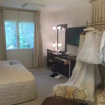 ブライズルーム兼宿泊部屋