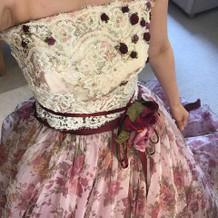 人気の佐々木希ちゃんのドレスもあります