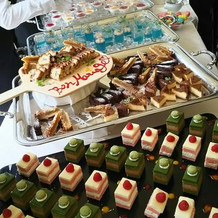 夏フェスらしい華やかなケーキたち