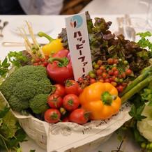 野菜のアレンジメント2 札も。