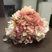 ブースのお花も綺麗でした♪