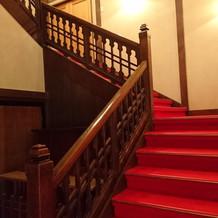 東京大神宮内の階段