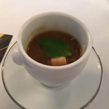 フカヒレのスープです