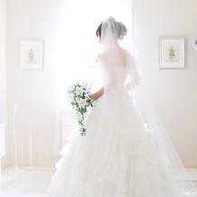 夢だった純白ドレス