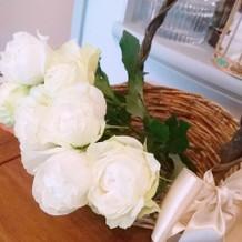 フラワーサーブ お花