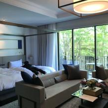 ホテル宿泊部屋