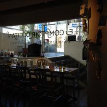 控室(コントワールカフェ)
