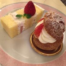 ウエディングケーキ&デザート