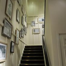 階段 もちろんエレベータもある