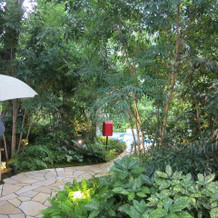 ガーデンへの入口