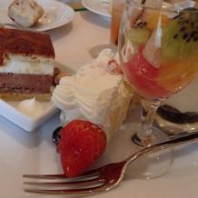 デザートの種類も豊富でした!