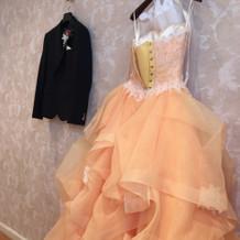 運命のドレスでした