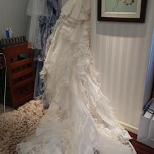 素敵なドレスを選べました